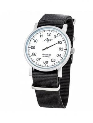 Часы наручные механические ЛУЧ.. Цвет: белый