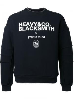 Толстовка с принтом логотипа Yoshio Kubo. Цвет: чёрный
