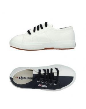 Низкие кеды и кроссовки SUPERGA®. Цвет: темно-синий