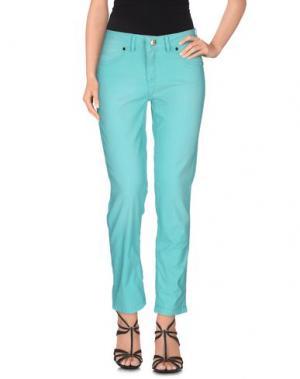 Джинсовые брюки MARANI JEANS. Цвет: зеленый