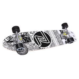 Скейт мини круизер  Lbc Cruiser White 29.25 (74.3 см) Z-Flex. Цвет: белый,черный