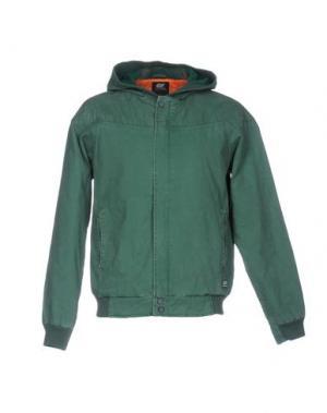 Куртка 55DSL. Цвет: зеленый