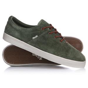 Кеды кроссовки низкие  York Surp Green/Sad Brown Fallen. Цвет: зеленый