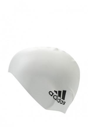 Шапочка для плавания adidas. Цвет: белый