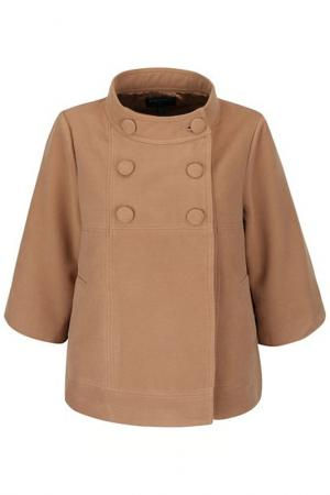 Пальто FEVER LONDON. Цвет: коричневый
