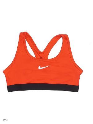 Топ G NP BRA CLASSIC Nike. Цвет: оранжевый