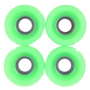 Колеса для скейтборда лонгборда  Longboard Deep Green 83A 51 mm Pure. Цвет: зеленый