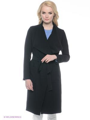 Пальто Kira Plastinina. Цвет: черный