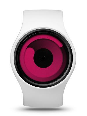 Наручные часы ZIIIRO Gravity Snow - Magenta. Цвет: розовый, белый