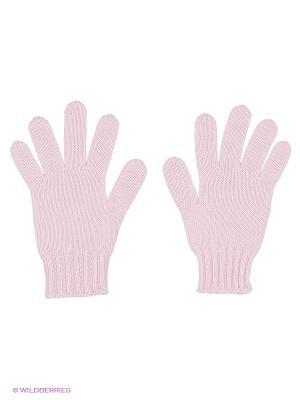 Перчатки United Colors of Benetton. Цвет: бледно-розовый