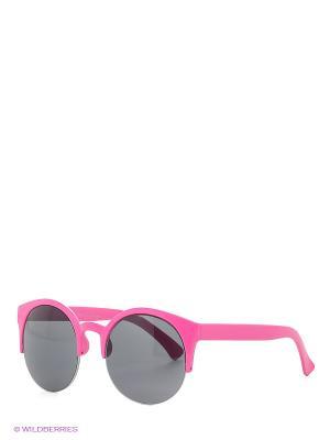 Солнцезащитные очки Funky Fish. Цвет: розовый