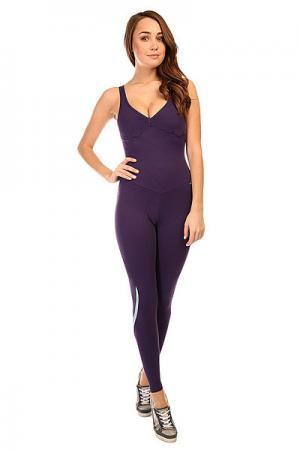 Комбинезон для фитнеса женский  New Zealand Overall Purple CajuBrasil. Цвет: фиолетовый