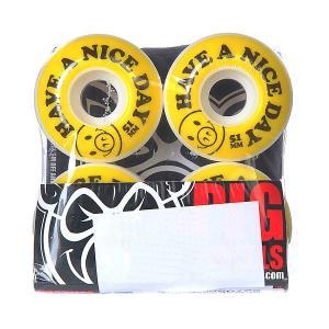 Колеса для скейтборда  Nice Day Yellow 101A 51 mm Pig. Цвет: белый,желтый,черный