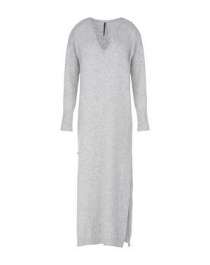 Длинное платье MANILA GRACE. Цвет: светло-серый