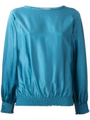 Блузка на резинке Astraet. Цвет: зелёный