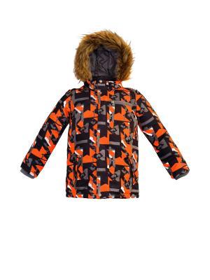 Куртка REIKE. Цвет: оранжевый
