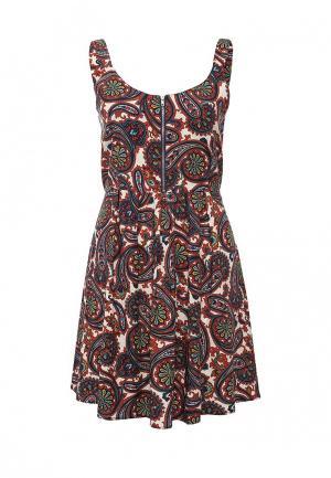 Платье Brave Soul. Цвет: разноцветный