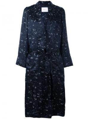 Пальто Andromeda Racil. Цвет: синий