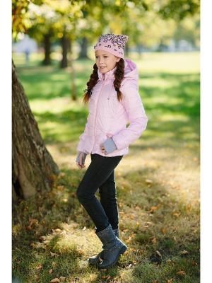 Куртка DUWALI. Цвет: бледно-розовый