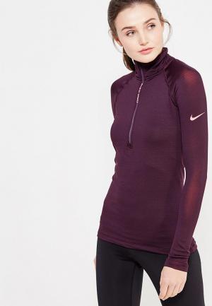 Лонгслив спортивный Nike. Цвет: фиолетовый