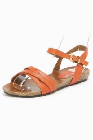 Туфли SPARKLING. Цвет: оранжевый