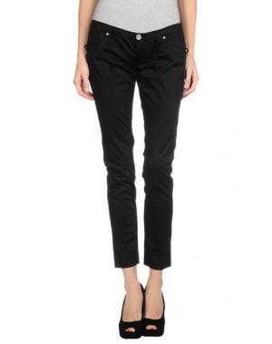 Повседневные брюки TAKE-TWO. Цвет: черный
