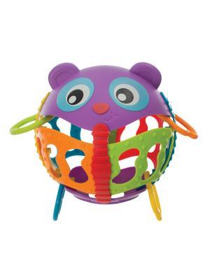 Погремушка Шар Playgro. Цвет: фиолетовый, зеленый, оранжевый