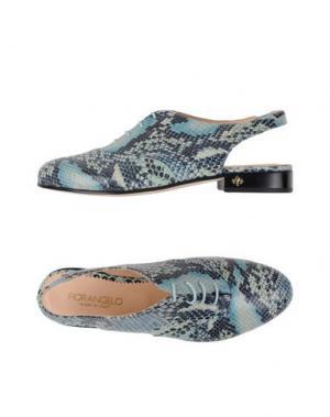 Обувь на шнурках FIORANGELO. Цвет: светло-зеленый