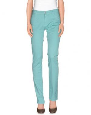 Повседневные брюки XANDRES. Цвет: бирюзовый