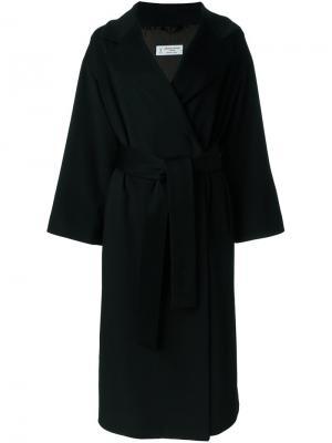 Расклешенное пальто Alberto Biani. Цвет: чёрный