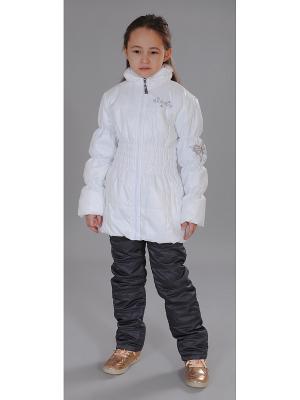 Куртка Милашка Сьюзи. Цвет: белый
