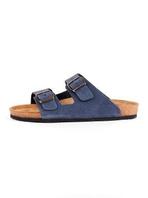 Пантолеты GELD. Цвет: синий