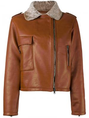 Куртка Vinzenza Liska. Цвет: коричневый