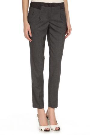 Укороченные брюки с 2-мя карманами YARMINA. Цвет: коричневый, светло-коричневый