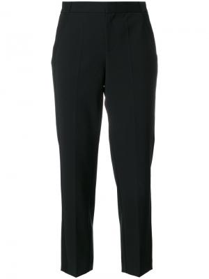 Укороченные брюки A.F.Vandevorst. Цвет: чёрный