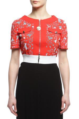 Пиджак Maria Grazia Severi. Цвет: красный