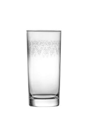 Набор бокалов для воды/сока  Krista deco (6 шт.) Krosno. Цвет: прозрачный