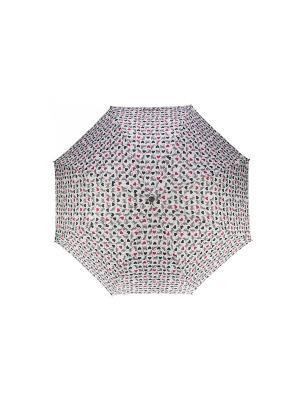 Зонт Isotoner. Цвет: черный, белый, красный