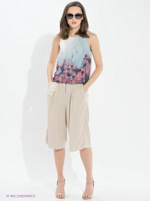 Кюлоты Vero moda. Цвет: бежевый
