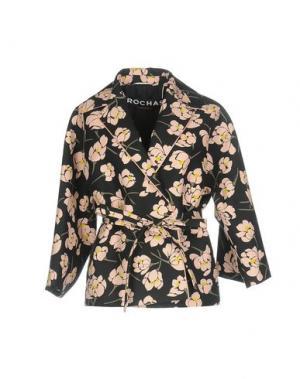 Пиджак ROCHAS. Цвет: стальной серый