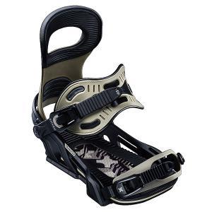 Крепления для сноуборда  Transfer Bind Arm Bent Metal. Цвет: черный,серый