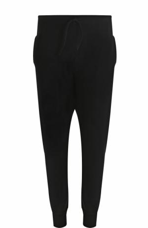 Шерстяные джоггеры с карманами Gemma. H. Цвет: черный