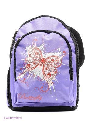 Рюкзак UNION. Цвет: сиреневый, красный