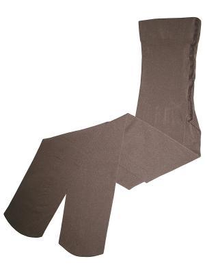 Колготки Master Socks. Цвет: темно-коричневый