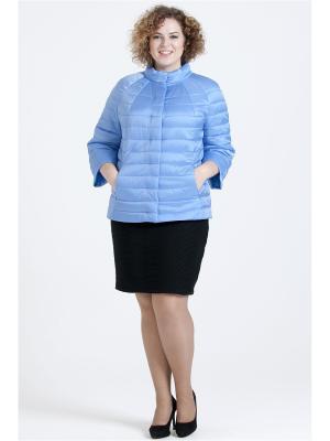 Куртка Modress. Цвет: голубой