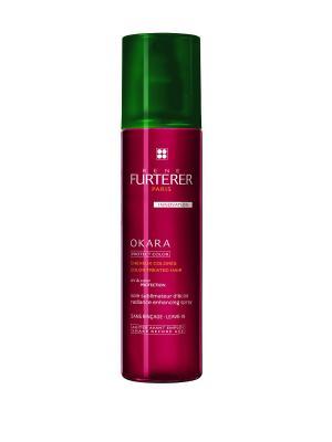 Лосьон двухфазный для защиты цвета волос Okara, 150 мл Rene Furterer. Цвет: прозрачный