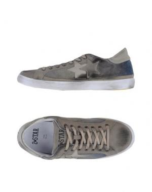 Низкие кеды и кроссовки 2STAR. Цвет: голубиный серый