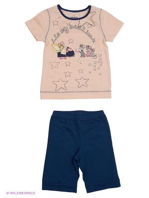 Пижама BAYKAR. Цвет: молочный