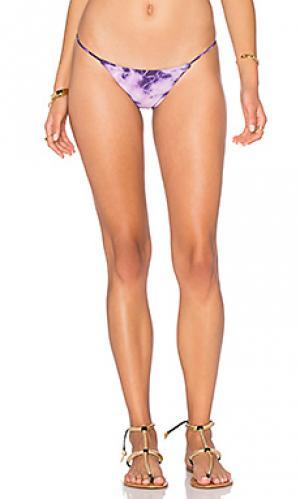 Минимальные плавки бикини Bettinis. Цвет: фиолетовый