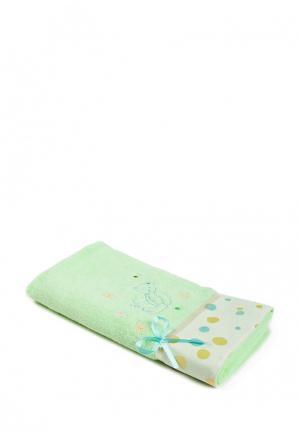 Полотенце La Pastel. Цвет: зеленый